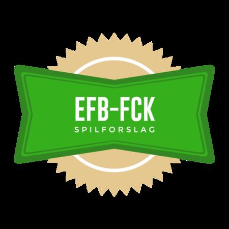 Spilforslag Esbjerg FB – FC København